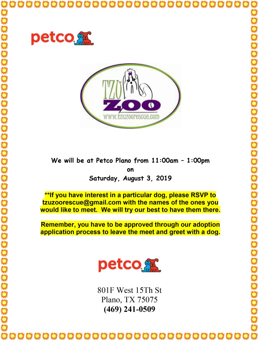 Meet & Greet, Petco-Plano