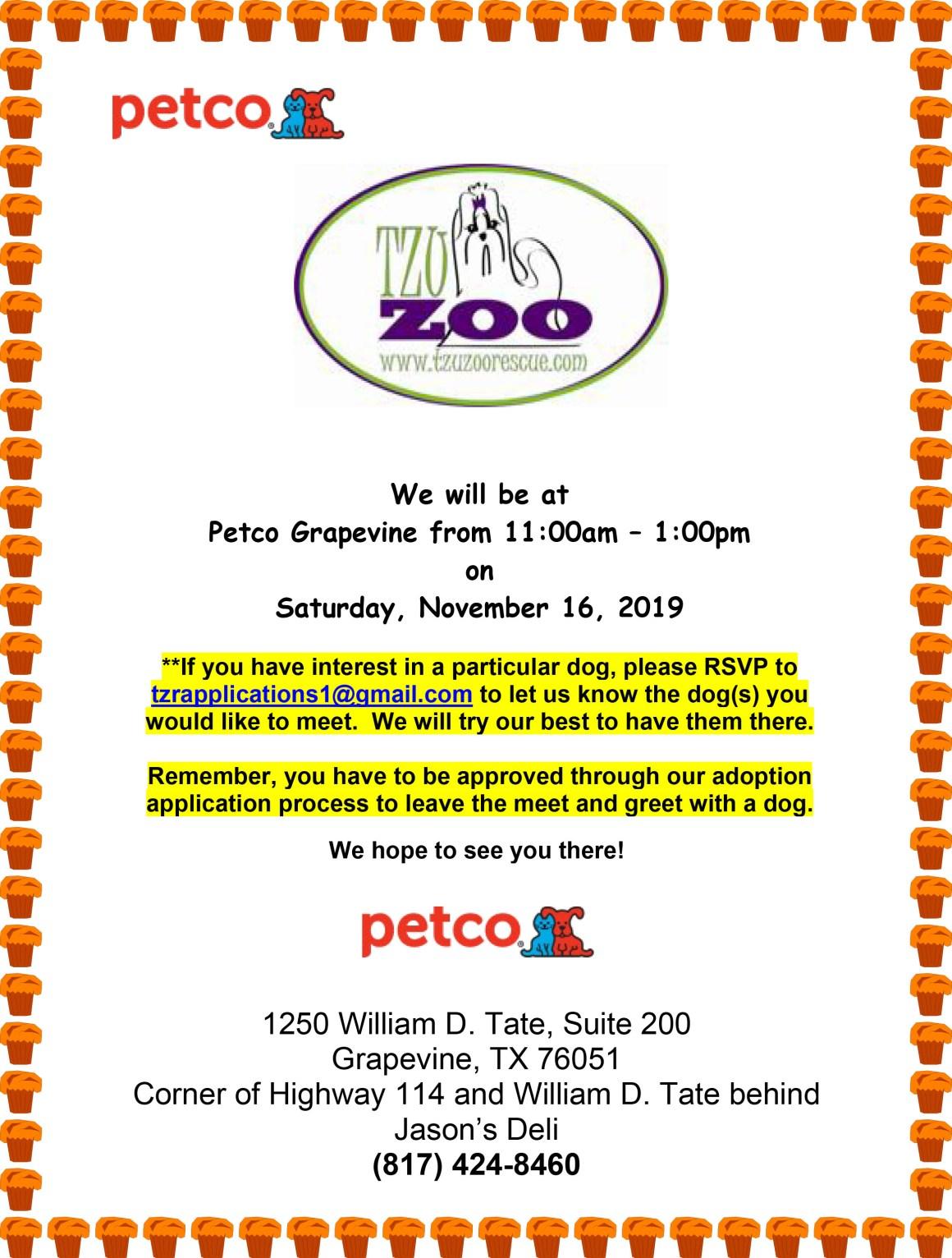 Meet & Greet, Petco, Grapevine, TX