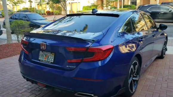 How to install JDM Spoiler on Honda Accord Rear Roof