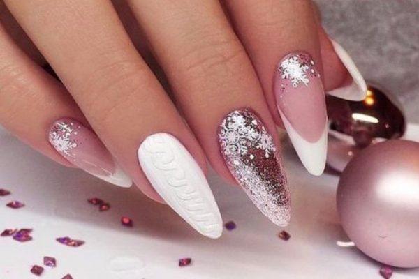 дизайн ногтей на новый год 5