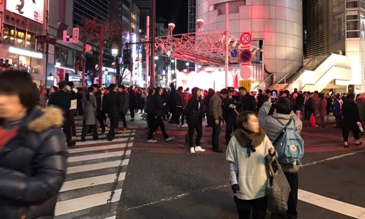 大晦日渋谷年越しカウントダウン 109