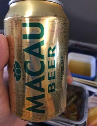 マカオ航空 マカオビール