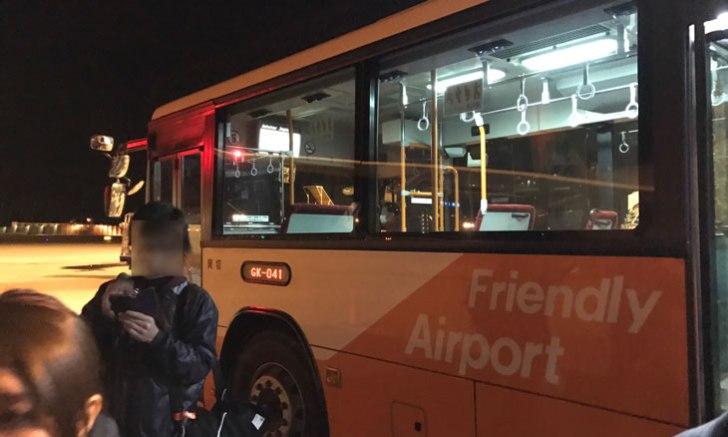 成田空港ターミナル3 バス