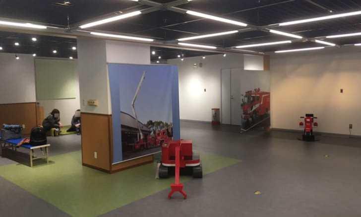 消防博物館 企画展示室・映像室