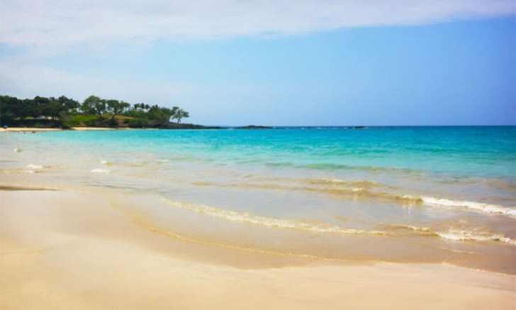 ハワイ島のハプナ・ビーチ(Hapuna Beach)