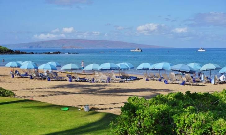 マウイ島のワイレア・ビーチ(Wailea Beach)