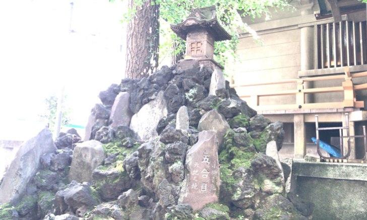 新宿 歌舞伎町 稲荷鬼王神社 西久保の厄除け富士 富士塚