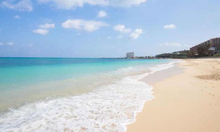 沖縄本島中部 冨着ビーチ