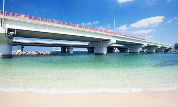 沖縄本島南部 波の上ビーチ