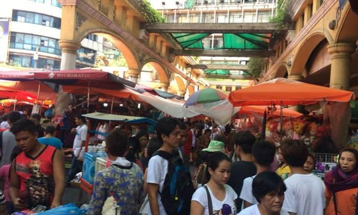 【フィリピン】マニラにあるキアポマーケット、キアポ教会周辺を散策してきた