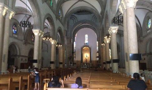 マニラ大聖堂 聖堂