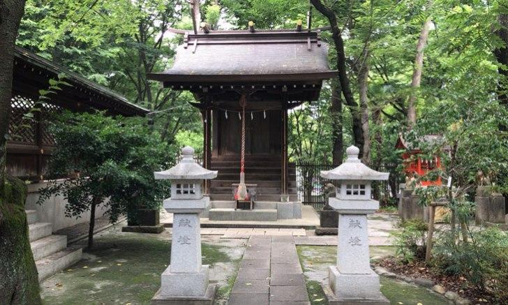 西新宿 十二社熊野神社 大鳥三社