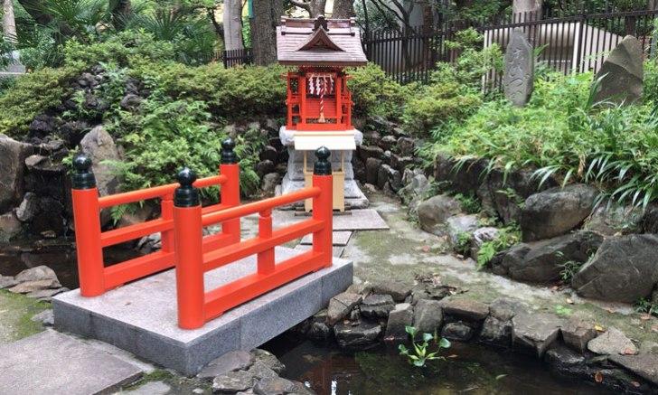 西新宿 十二社熊野神社 弁財天社