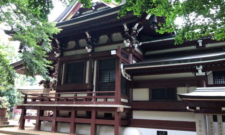 新宿 諏訪神社 拝殿