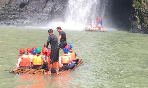 【フィリピン】パグサンハン川急流下りを体験しに日帰り旅行に行ってきた