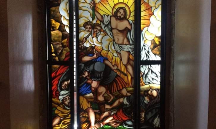 マニラ サン・アグスチン教会 ステンドグラス