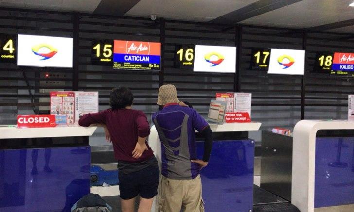 ニノイ・アキノ空港(NAIA) ターミナル4 チェックインカウンター