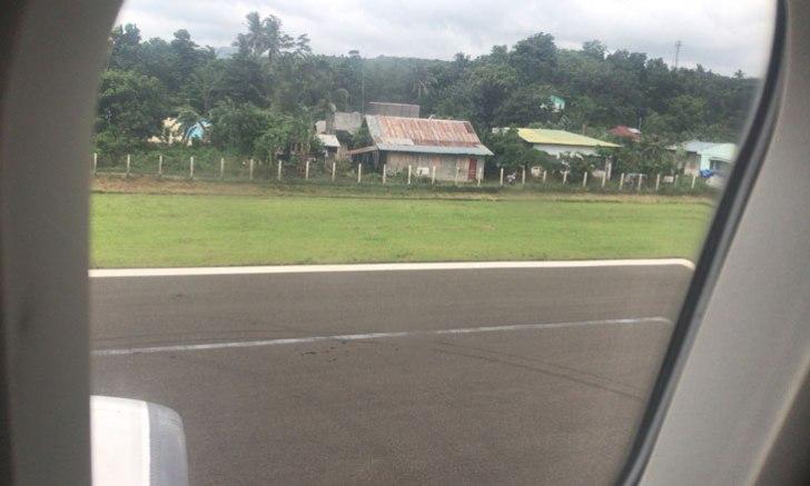 ゴドフレド・P・ラモス空港(旧名:カティクラン空港) 滑走路