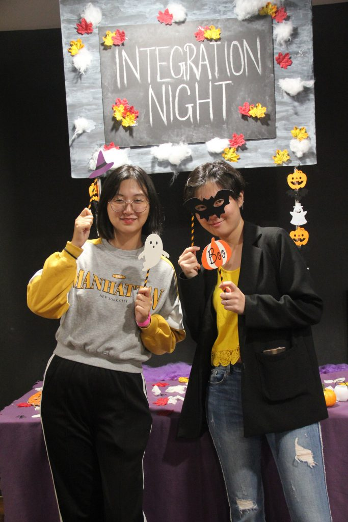 Integration Night 2019 photo booth