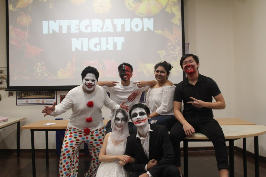 Integration Night 2019 halloween outfits