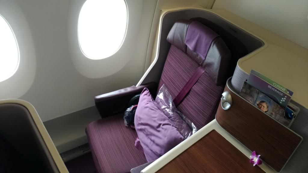 タイ国際航空 A350 ビジネスクラス