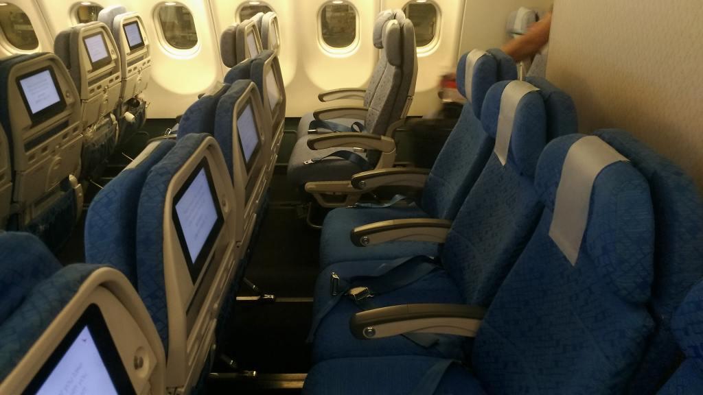 キャセイドラゴン航空 A330 エコノミークラス
