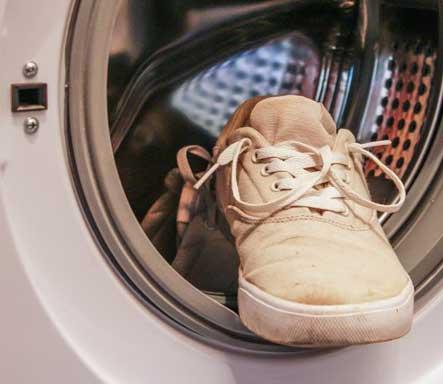 Péče o boty - vyčištění v pračce