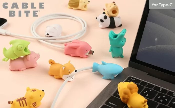 USB ケーブルバイト