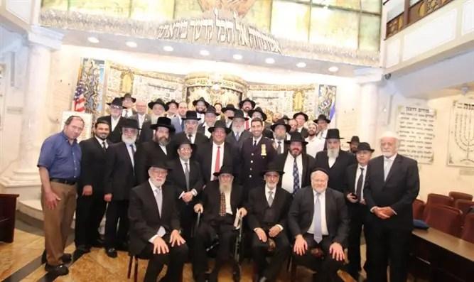 """Fulfilling the Divine Will:"" RAA's 33rd Annual Chai Elul Siyum HaShas"