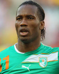 Didier Drogba - North Korea-Ivory Coast - World Cup 2010 (Getty Images)