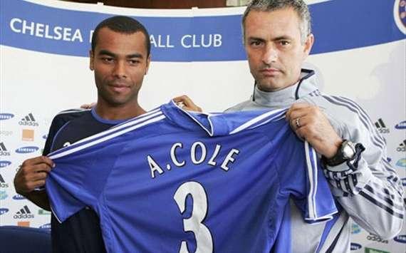 Ashley Cole; Jose Mourinho (Getty Images)
