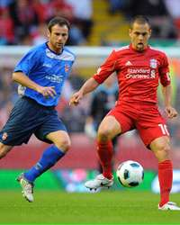 Europa League Qualifier: Joe Cole ,  Liverpool - FK Rabotnicki  (Getty Images)