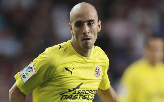 Borja Valero, 26 anni, centrocampista del Villareal. Autore dei due assist e miglior in campo nella doppia sfida contro il Napoli.