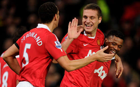 Rio Ferdinand & Nemanja Vidic - Manchester United (Getty Images)