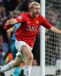 Paul Scholes , Manchester United