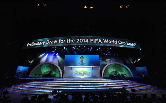 Draw for the 2014 World Cup qualifiers, Brazil (Getty)