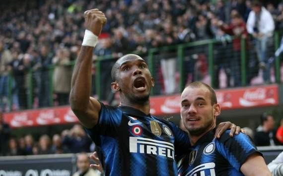 Samuel Eto'o & Wesley Sneijder, Inter