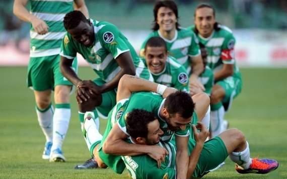 Spor Toto Süper Lig: Bursasporlu oyuncuların gol sevinci