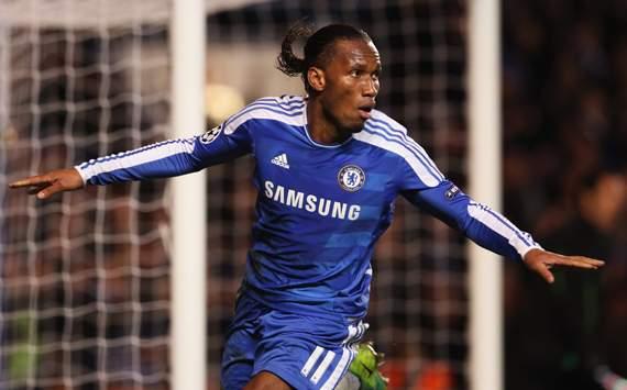 CL - Chelsea FC v Valencia CF, Didier Drogba