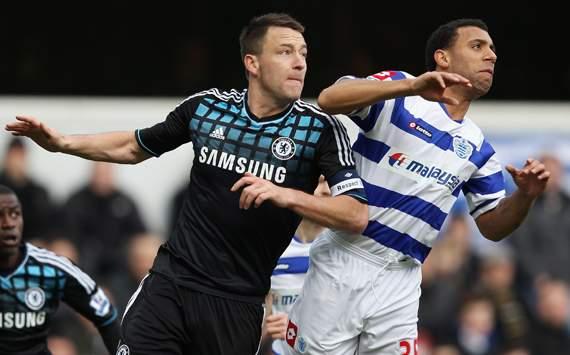 FA Cup - QPR vs Chelsea, John Terry & Anton Ferdinand