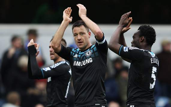 FA Cup,John Terry,Queens Park Rangers v Chelsea
