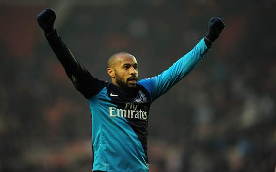 Henry goal with Arsenal