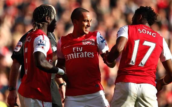 EPL: Theo Walcott, Arsenal v Tottenham
