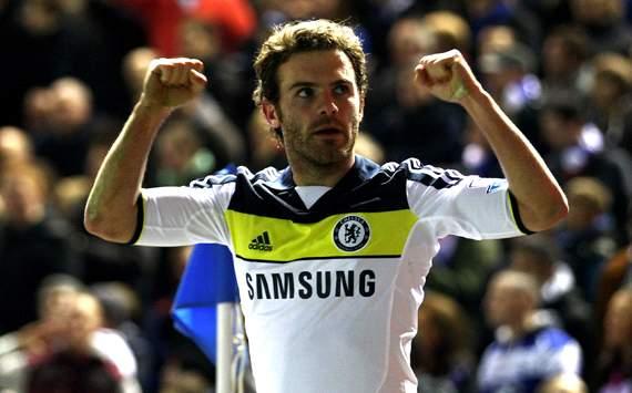 FA Cup:Juan Mata, Birmingham City v Chelsea