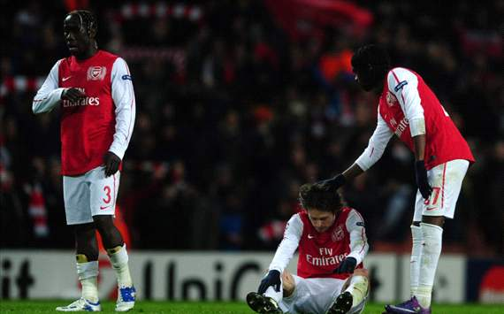 Gervinho,Tomas Rosicky, Arsenal