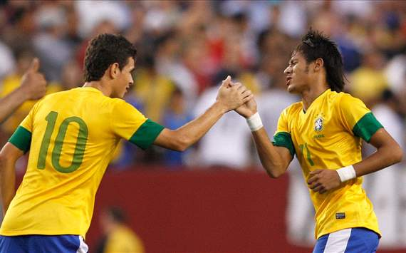 Neymar en el partido de USA vs Brasil
