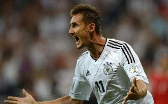 Miroslav Klose; Germany - Austria