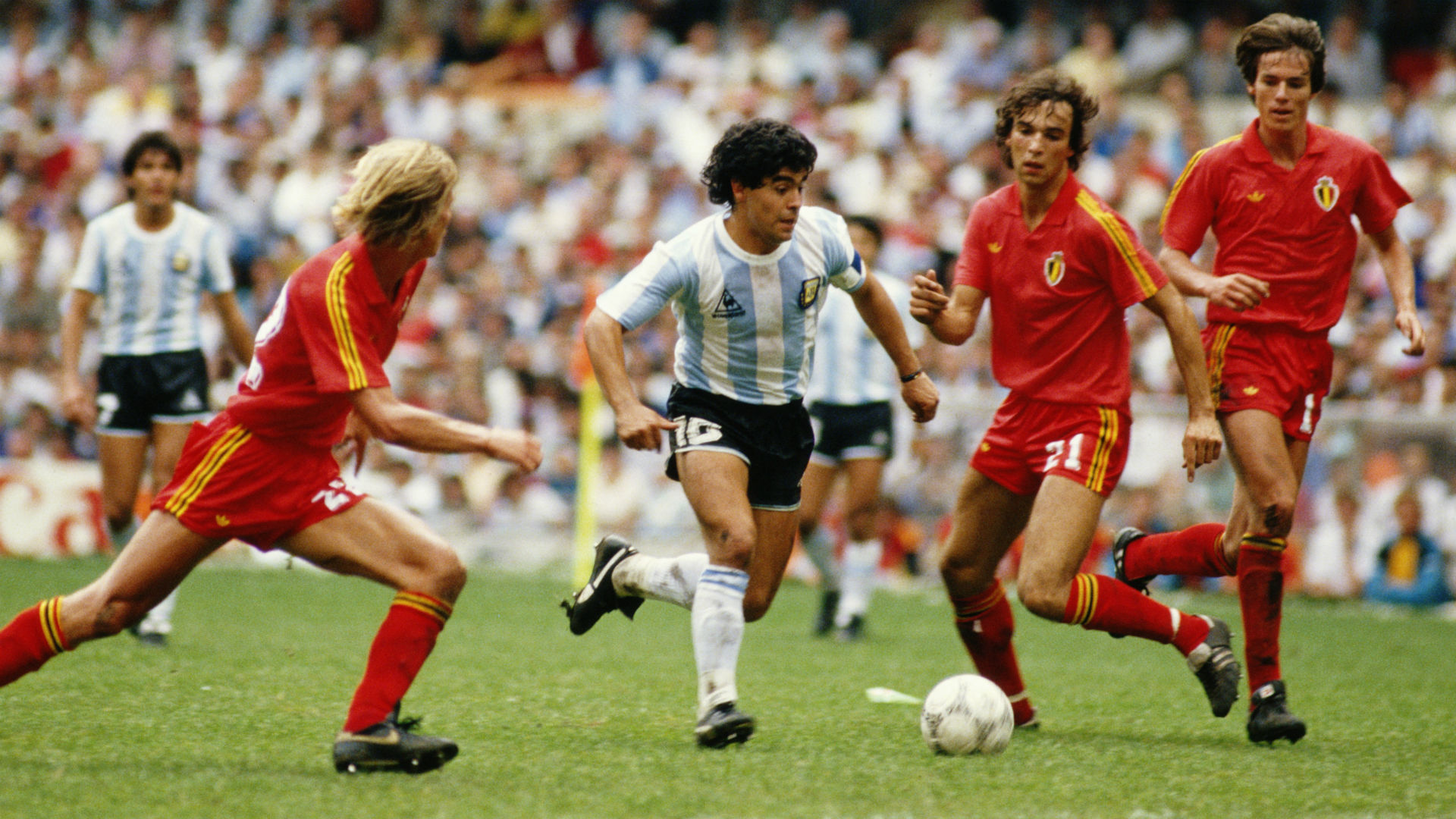 Image result for maradona goal vs belgium