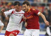 Donati & Totti - Roma-Bari - Serie A (Getty Images)