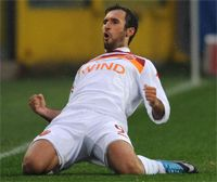 Mirko Vucinic - Atalanta-Roma - Serie A (Getty  Images)